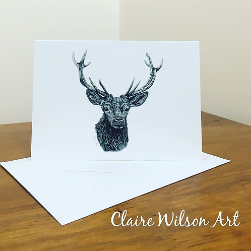 'ROYAL STAG' BLANK GREETINGS CARDS