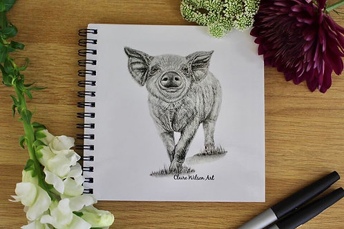 'HEY LITTLE PIGGY' NOTEBOOK
