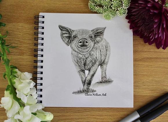 'HEY LITTLE PIGGY' NOTEBOOK