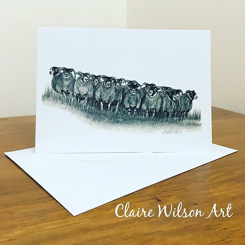 'THE GATHERING' BLANK GREETINGS CARDS