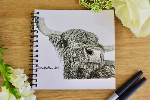 'SNOOTY COO' NOTEBOOK