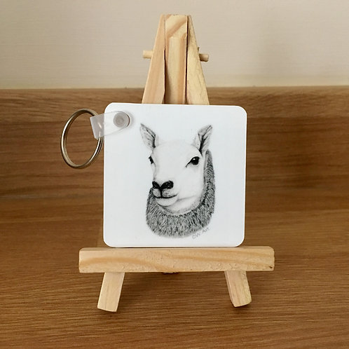 'QUEEN OF THE SOUTH' KEYRING
