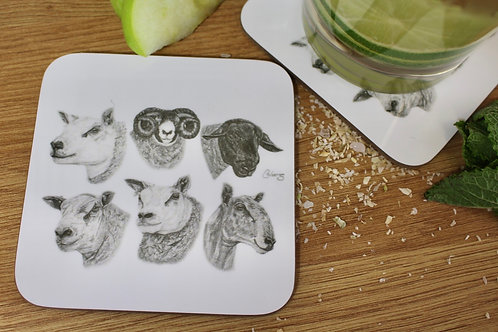 'DIFFERENT BREEDS FOR DIFFERENT NEEDS' COASTER