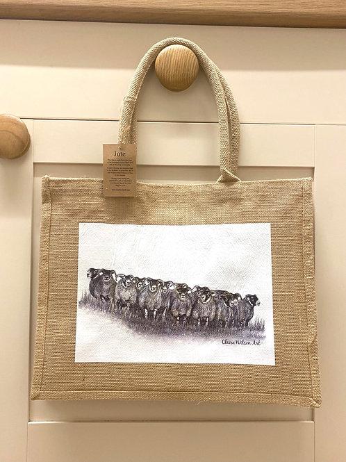 'THE GATHERING' CLASSIC JUTE BAG
