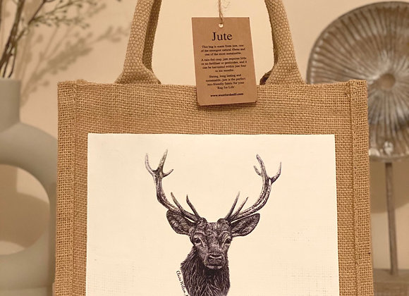 'THE ROYAL PRINCE' MINI JUTE BAG