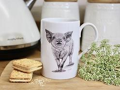 Claire Wilson Art 'Mugs'
