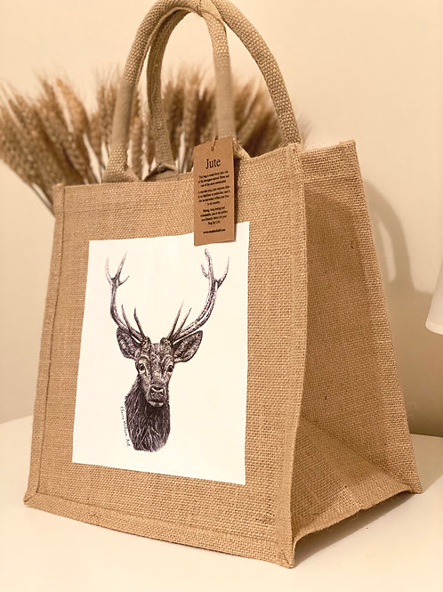 'ROYAL PRINCE' MIDI JUTE BAG