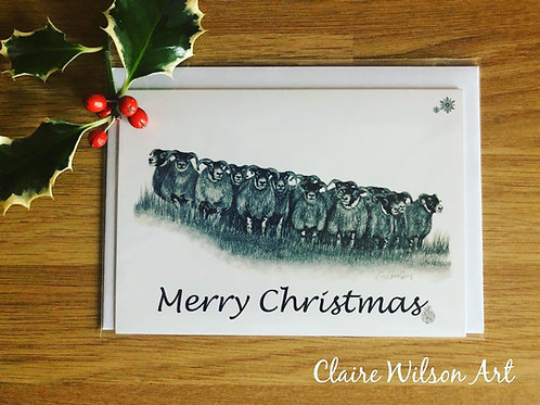 'THE GATHERING' BLANK CHRISTMAS CARDS