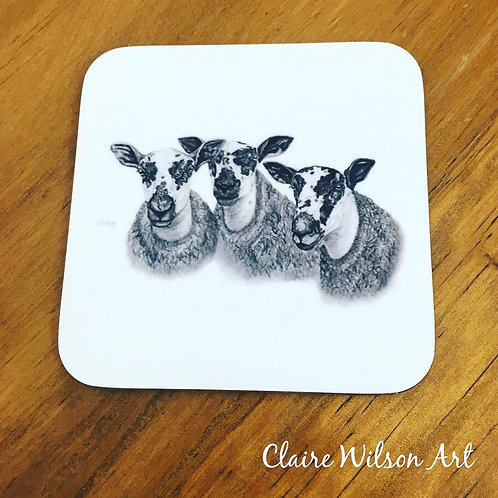 'MARR MULES' COASTER