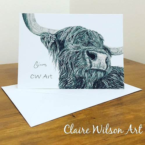 'SNOOTY COO' BLANK GREETINGS CARDS