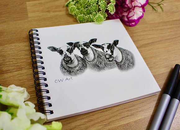 'MARR MULES' NOTEBOOK