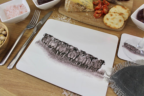 'THE GATHERING' PLACEMAT