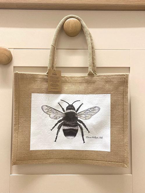 'THE BEES KNEES' CLASSIC JUTE BAG