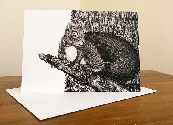 'SIMPLY RED' BLANK GREETINGS CARDS