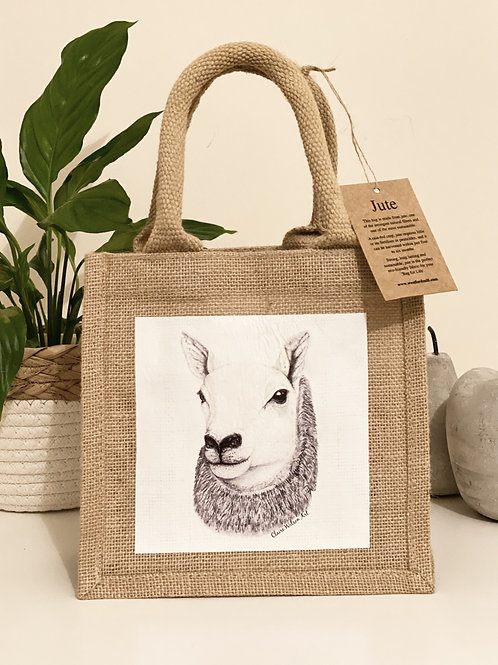 'QUEEN OF THE SOUTH' PETITE JUTE BAG