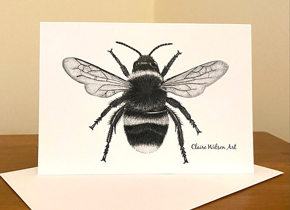 'THE BEES KNEES' BLANK GREETINGS CARDS