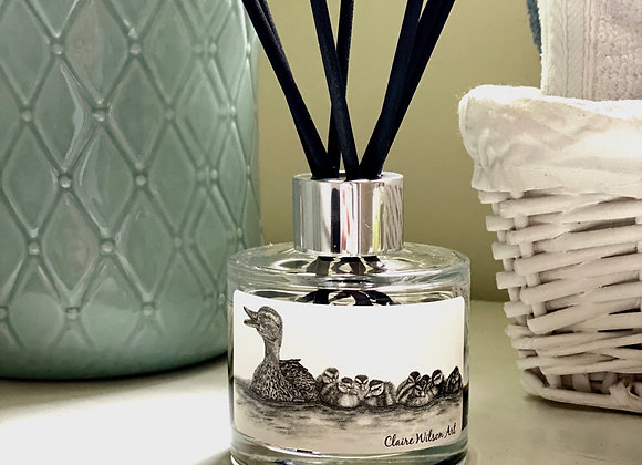 'JUST KEEP SWIMMING' REED DIFFUSER IN FRESH WHITE LINEN