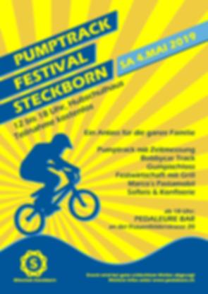 Flyer Pumptrack Festiveal Steckborn 2019