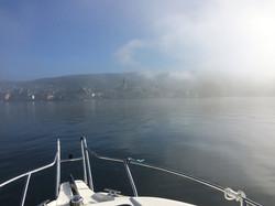 Nebel vor Steckborn
