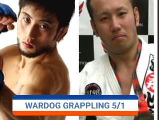 WARDOG14 UFCファイター参戦‼