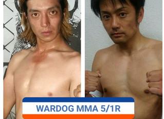 WARDOG14 魔 離 vs 川崎真直