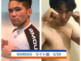 "WARDOG14 徳野""一心""一馬 vs パクジョンフン"