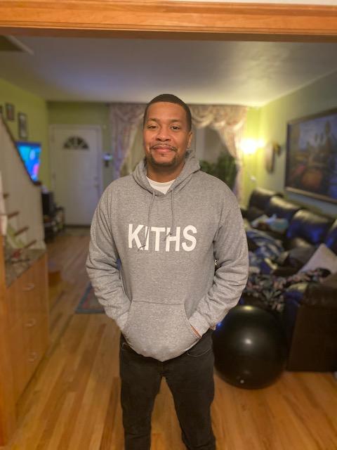 KITHS Block Letter Hoodie