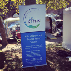 KITHS Retractable Banner