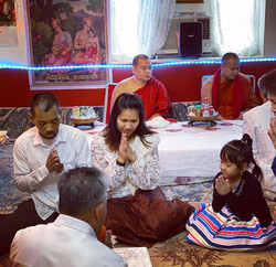 100-day Prayer Ceremony for Bee
