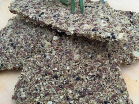 Olive Rosemary Flax Crax