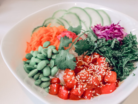 *NEW* Peanut Watermelon Poke!