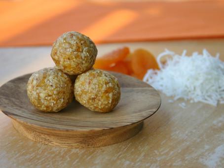 Coconut-Apricot Chews