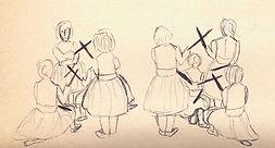 Paloteos de Berruces dibujo