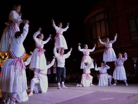 Jota de la Espadaña, espectáculo folklórico