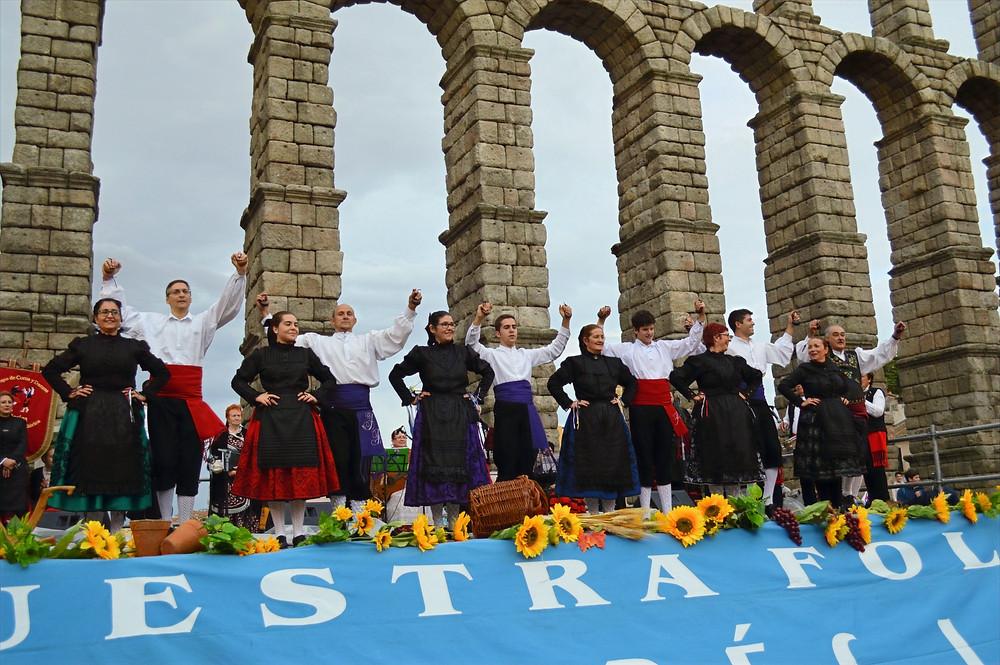 Danza del zánagano, pieza emblemática del folklore de Valladolid
