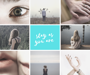Stay as you are.