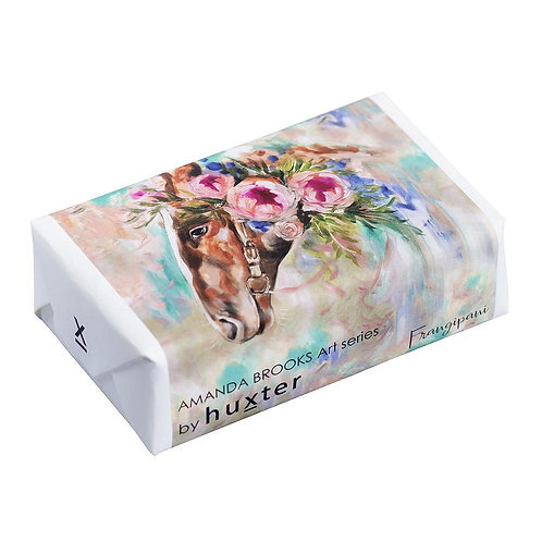 Whispering Dreams' - Horse Wrapped Soap - Frangipani  Whispering Dreams' - Horse Wrapped Soap - Frangipani - hunter
