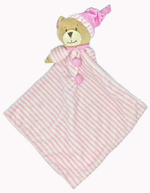 BABY BEAR BLANKIE PINK