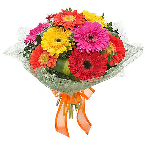 carnival, colourful, flower, bouquet, local delivery