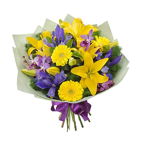 yellow flowers, delivered, pick up