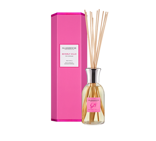 Beverly Hills - Pink Lemonade diffuser - glasshouse