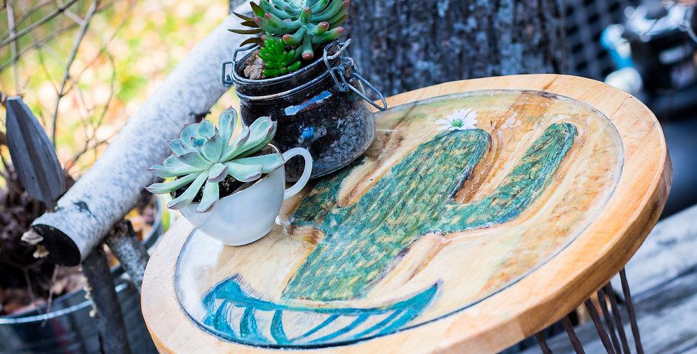 Table de jardin Cactus blue