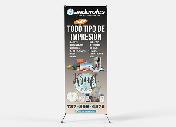 Stand Banner X-Type