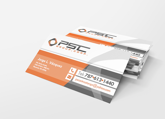 250 Business Cards 4/0