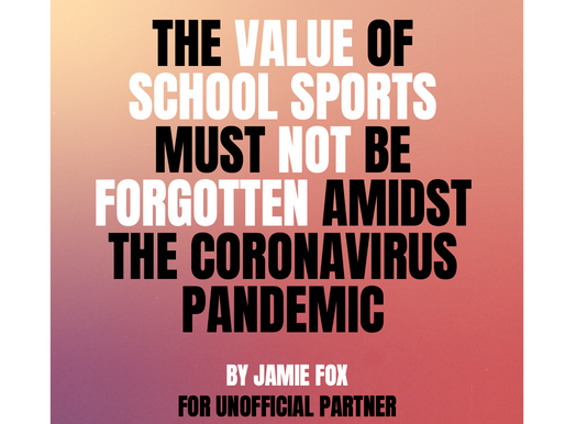 Sport for all should be a fundamental principle of our society, especially for children.
