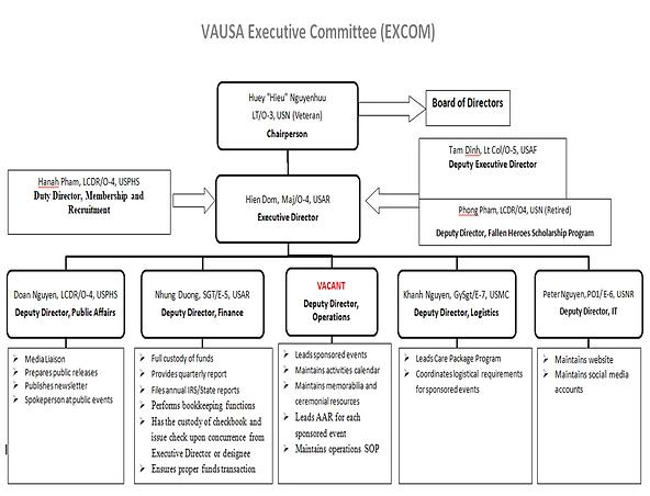 VAUSA EXCOM Structure.png