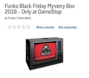 GameStop Exclusive Black Friday box