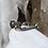 "Thumbnail: Sterling Silver Confederate Leech & Rigdon ""CS"" Spur Civil War Relic Pendant"