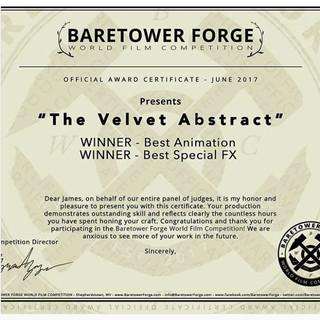 Baretower Forge World Film Competition