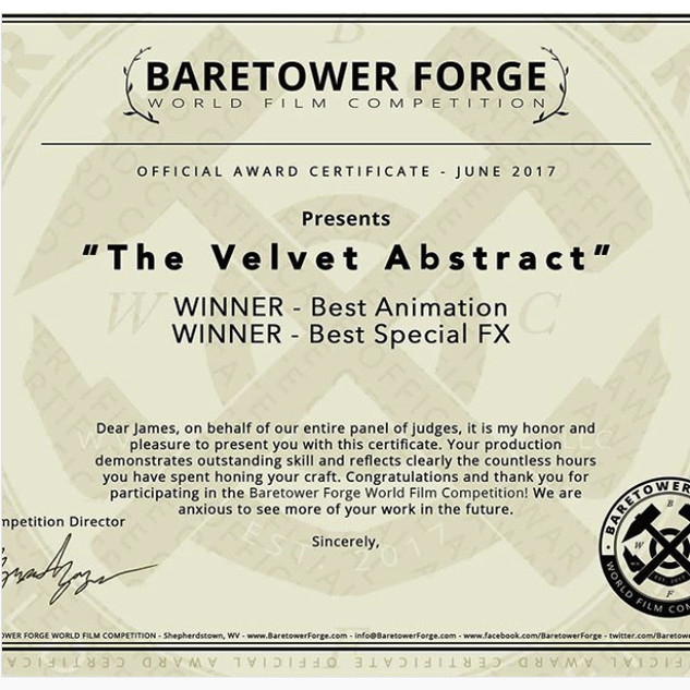 Baretower Forge World Film Competition